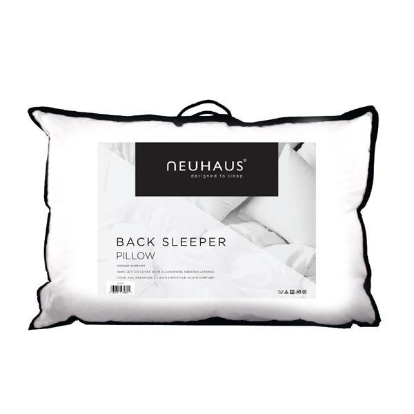 Neuhaus Back Sleeper Pillow
