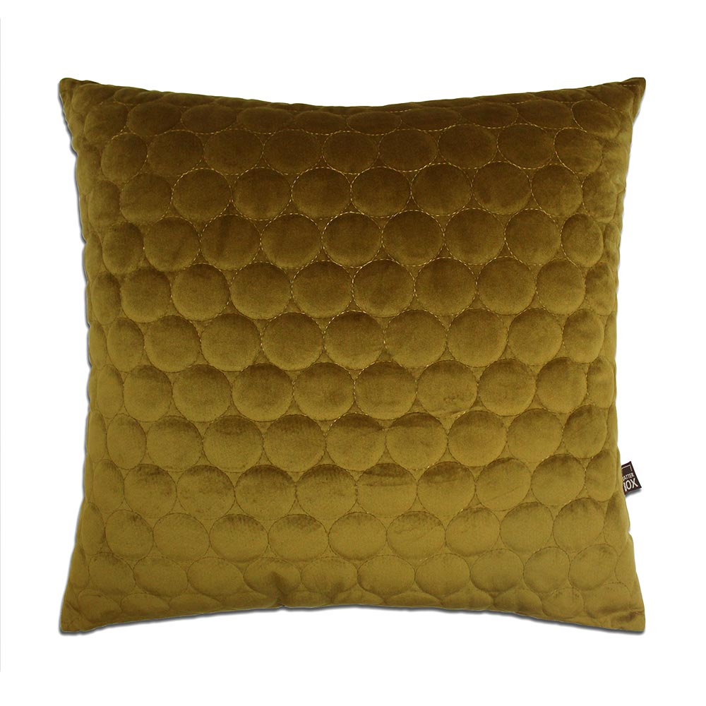 Scatterbox Halo Antique Gold Cushion 45x45cm