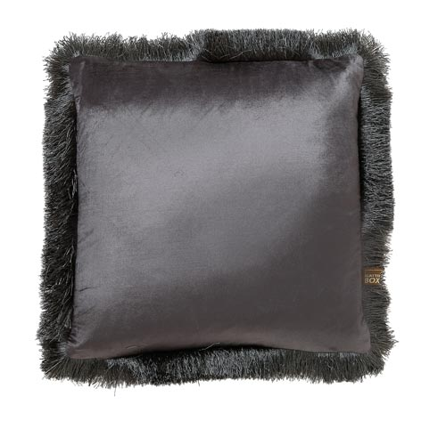 Sactterbox Lexi Grey Cushion 43x43cm