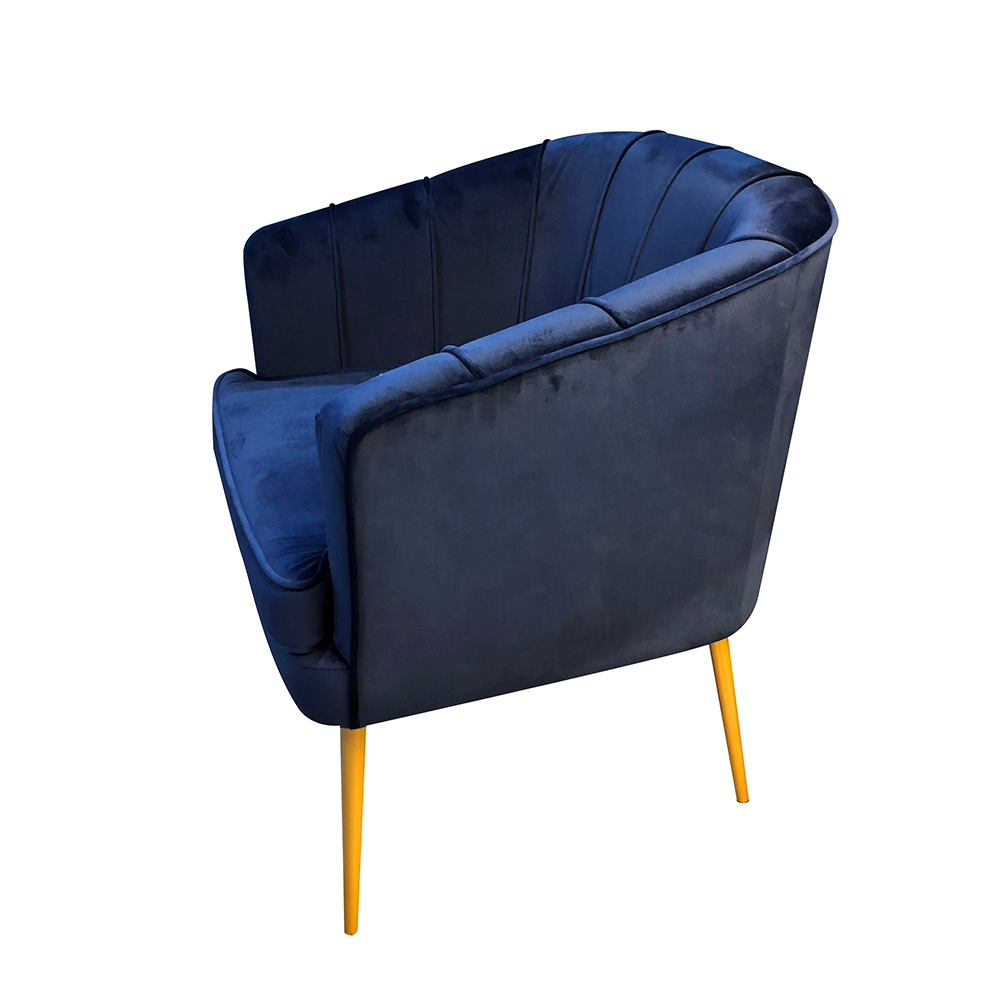 Thea Accent Tub Chair Navy