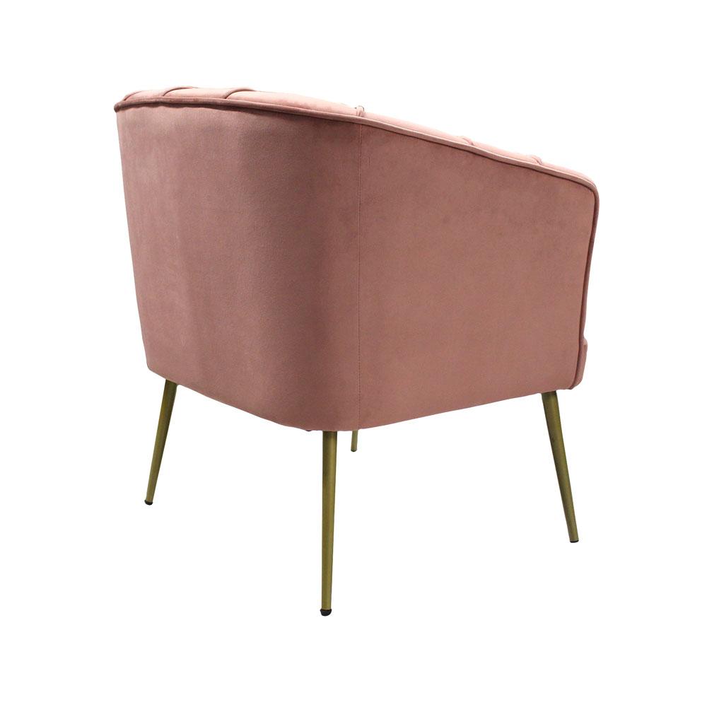 Thea Accent Tub Chair Blush