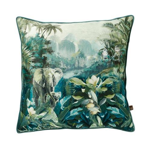 Sactterbox Malawi Green Cushion 45x45cm