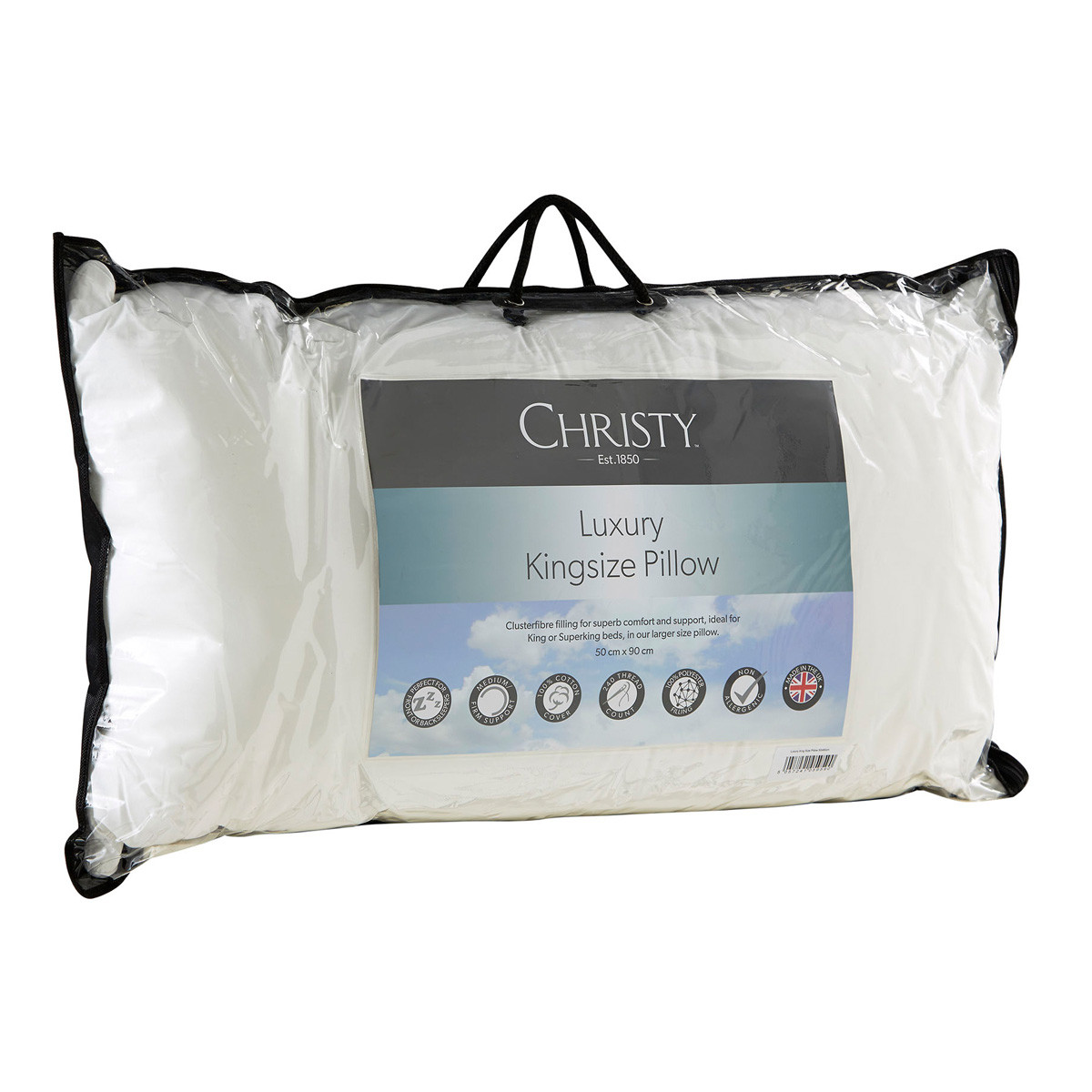 Christy Luxury King Size Pillow