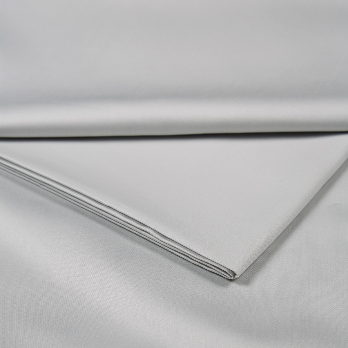 King Size Pillowcases (pair) 400 TC Cotton Sateen Platinium
