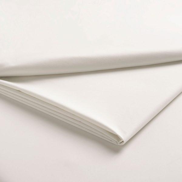 King Size Pillowcases (pair) 400 TC Cotton Sateen White