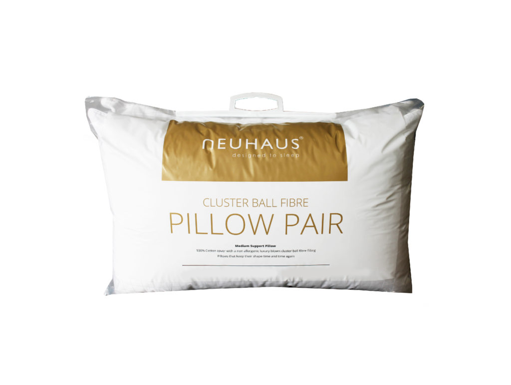 Neuhaus Clusterball Fibre Pillow Pair