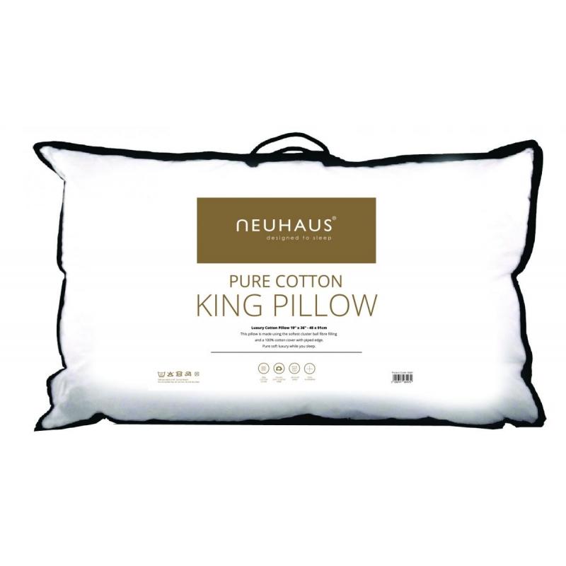 Neuhaus Pure Cotton King Pillow