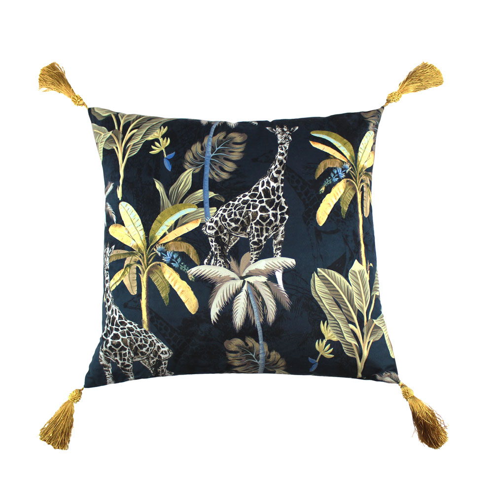 Scatterbox Simone navy/Gold Cushion 45x45cm