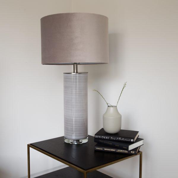 Taupe ceramic Table Lamp