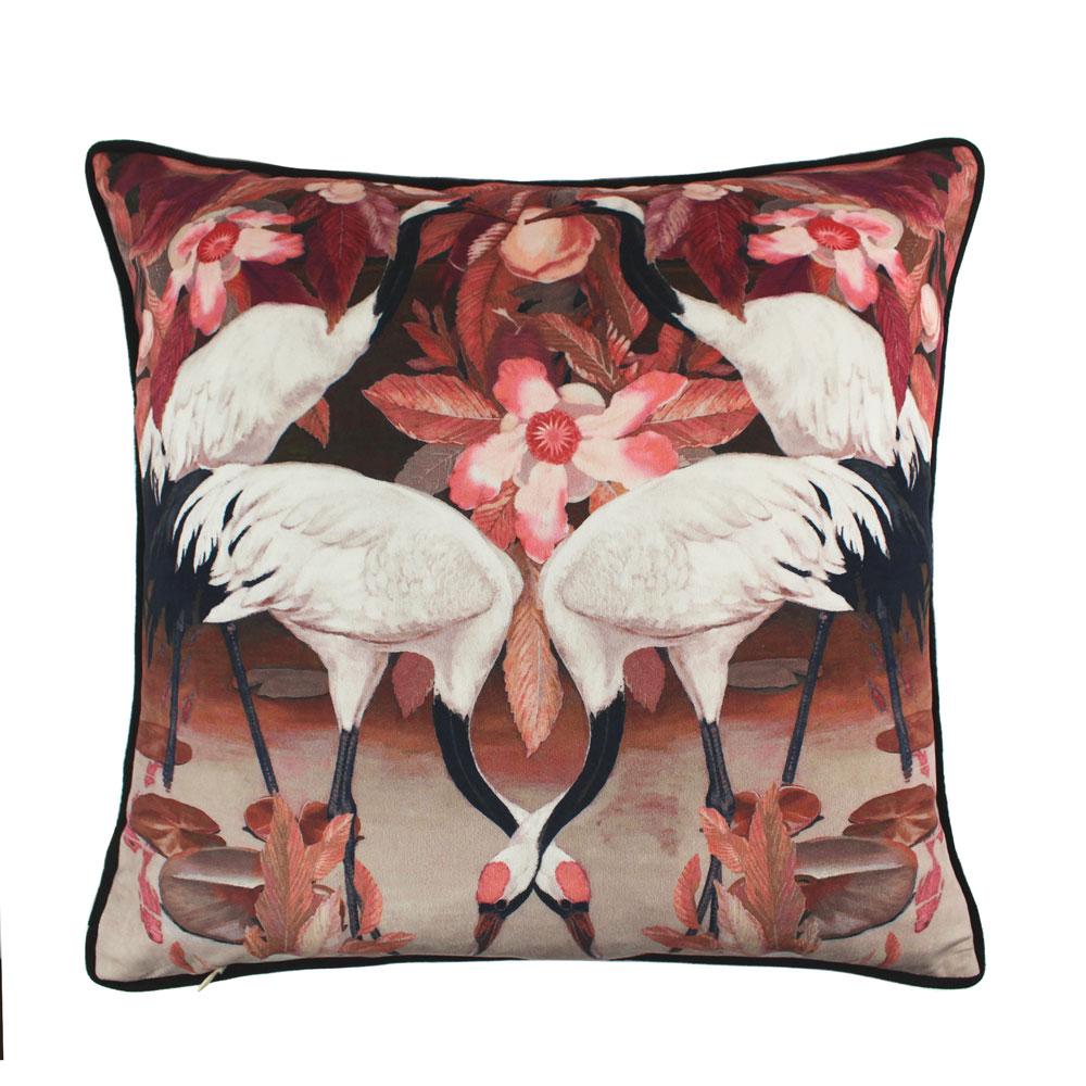 Sactterbox West Lake Blush Cushion 45x45cm