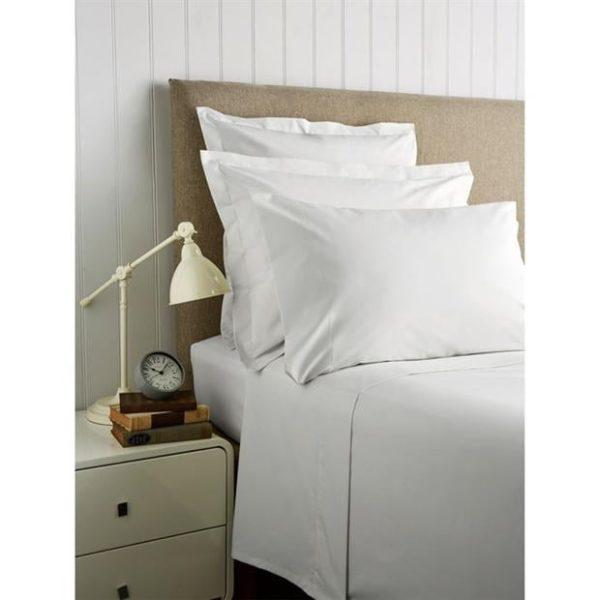 Christy 400 cotton sateen bedding white