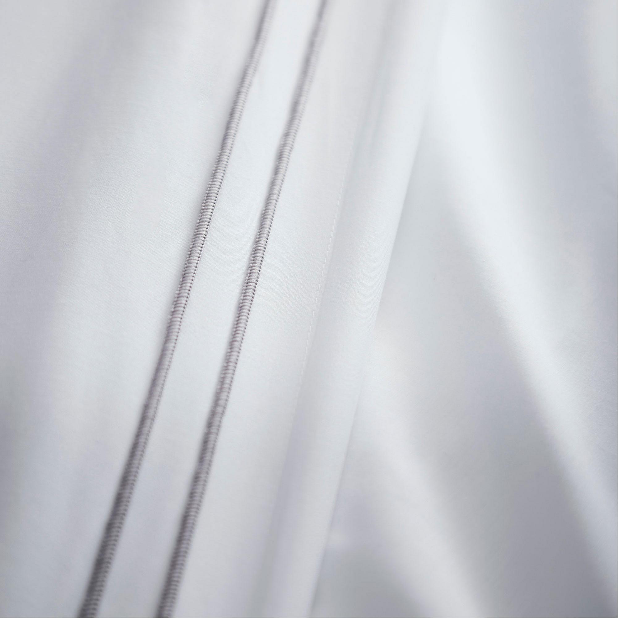 Alden Silver 100% Cotton Duvet Set