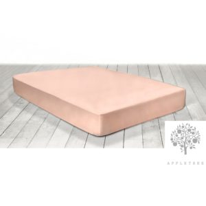 Appletree Fitted Sheet (Extra Deep) Blush