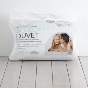 Double 'Just Like Down' Duvet