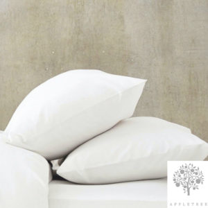 Appletree Fitted Sheet (Extra Deep) White