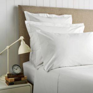 Christy '400 Thread Count Cotton Sateen' Oxford Pillowcase (Pair)