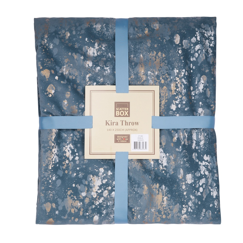 Kira Throw Blue 140x250cm