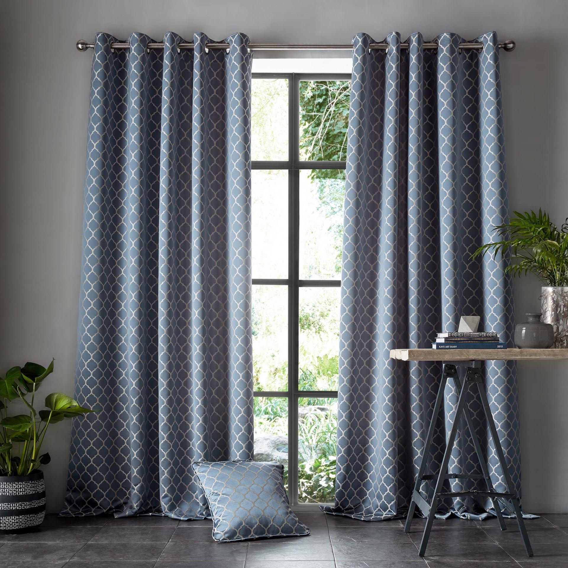 Aldbury Danube Eyelet Curtains