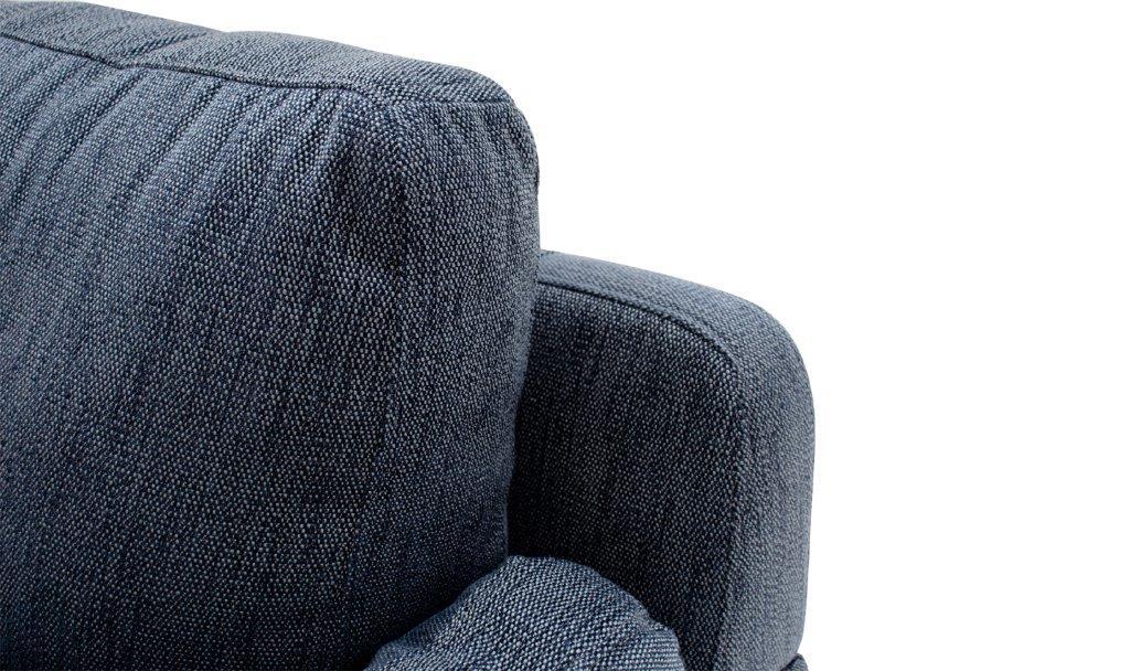 Beckett Blue Sofa