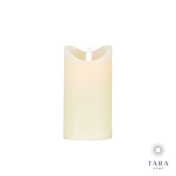 Flicker LED Candle Ivory