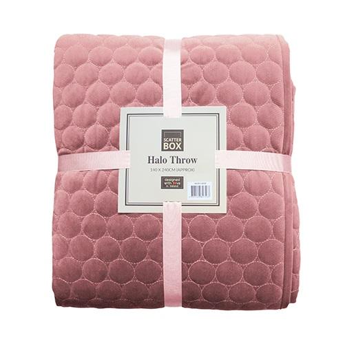 Halo Throw Blush Pink