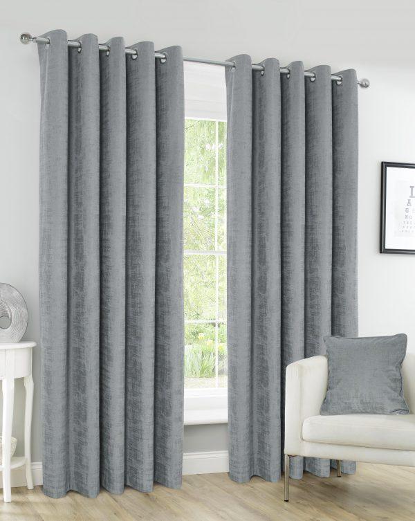 Harris Pebble Eyelet Curtains