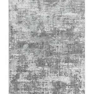 Orion Abstract Silver Rug