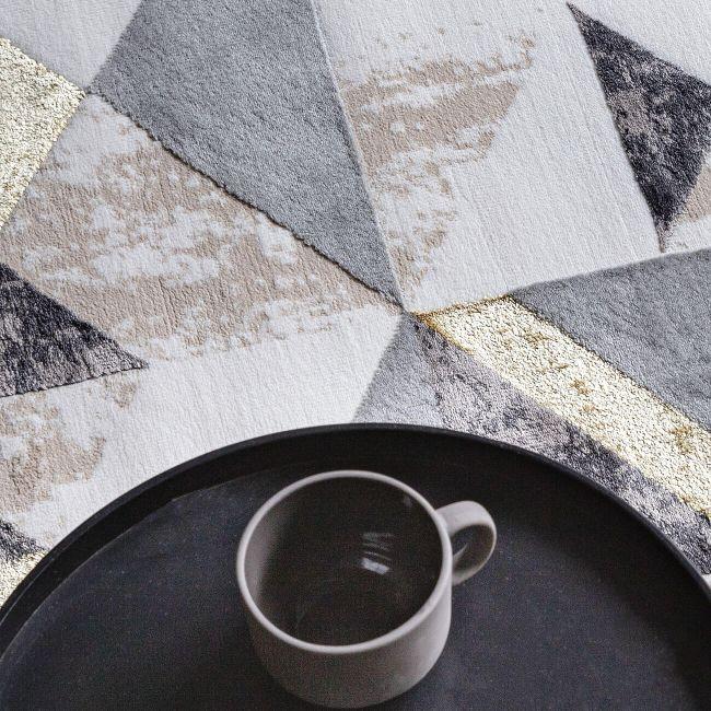 Orion Flag Grey Rug