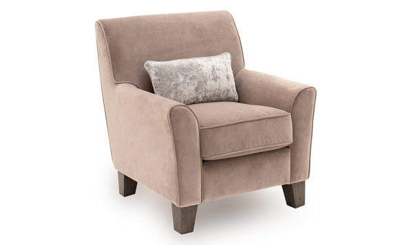 Cantrell Taupe Accent Chair