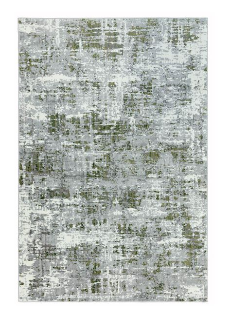 Orion Abstract Green Rug