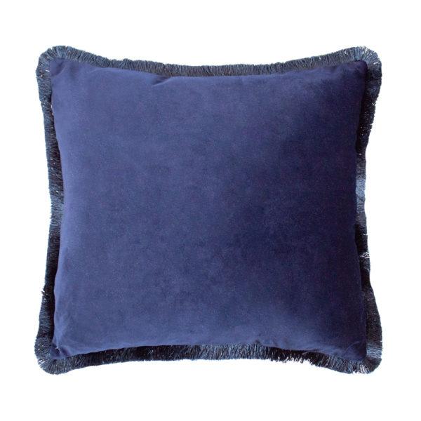 Fleur Blue Cushion Reverse