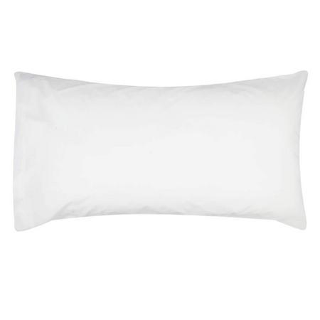 White King Pillowcase Cotton Sateen