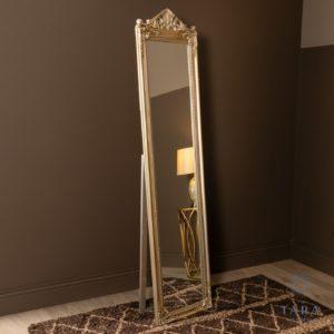 Cheval Mirror Champagne