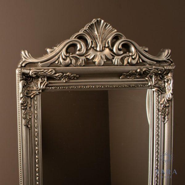 Cheval Mirror Silver