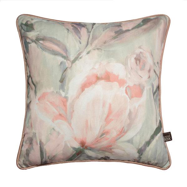 Edie Cushion Blush Sage