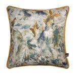 Seren Blue Ochre Cushion