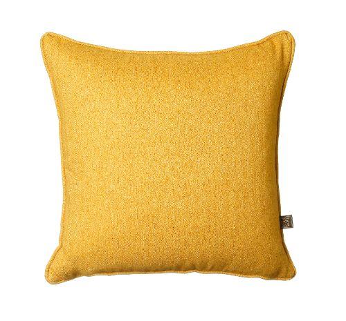 Tweed Ochre Cushion