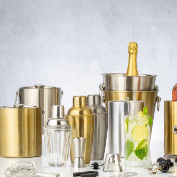 Viners Gold Barware