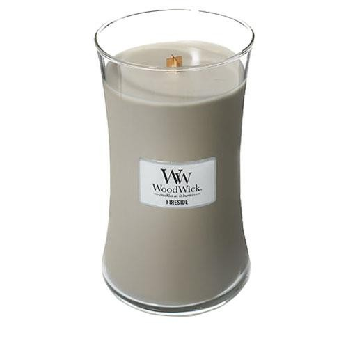Woodwick Large Jar Fireside Candle