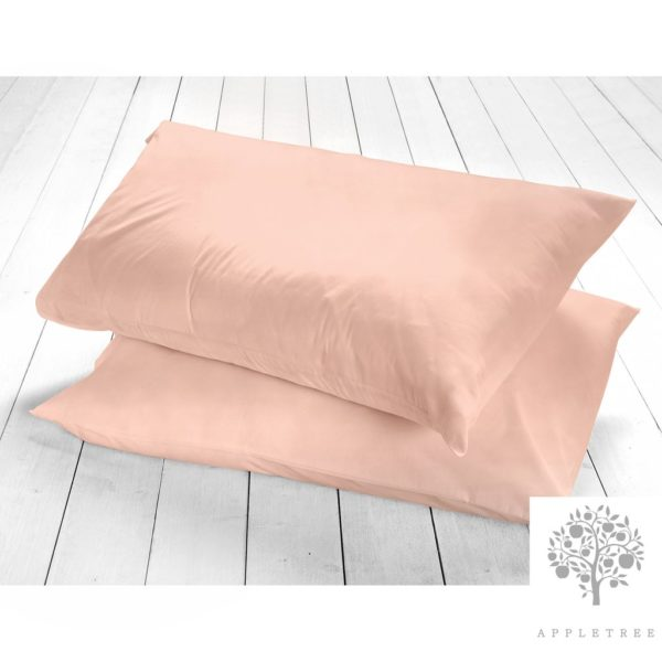 Appletree Pillowcases Blush