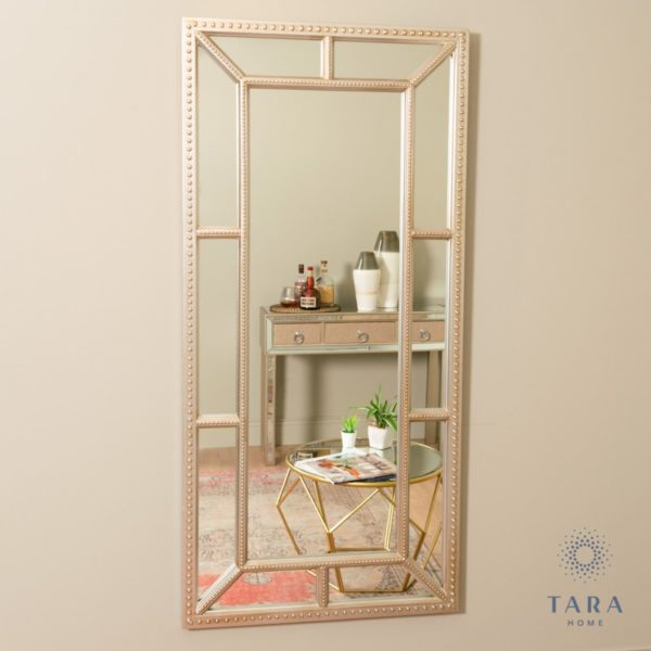Remy Beaded Leaner Mirror