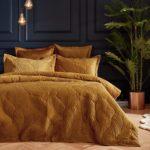 Palmeria Duvet Set Gold
