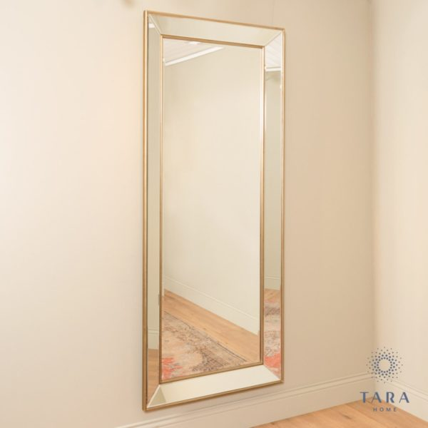 Reflections Leaner Mirror Champagne
