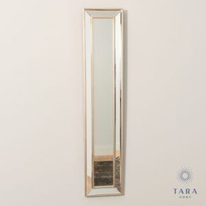 Reflections Slim Mirror Antique Champagne