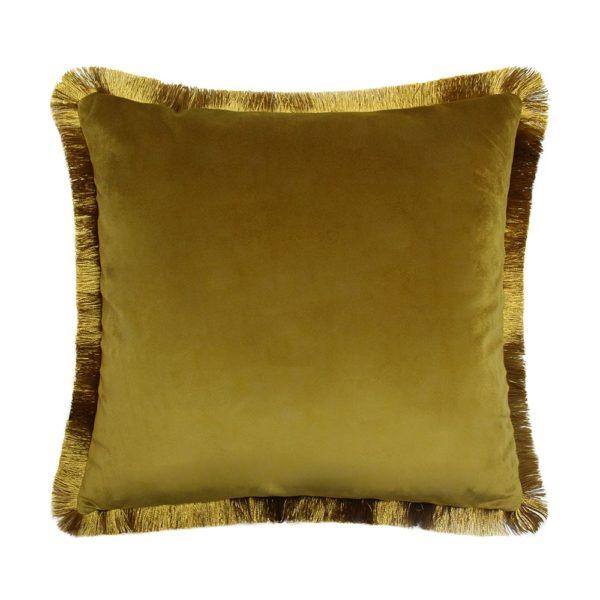 Juniper Navy Ochre Cushion