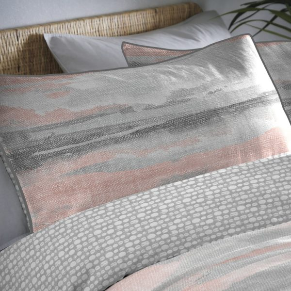 Landscape Coral Duvet Set