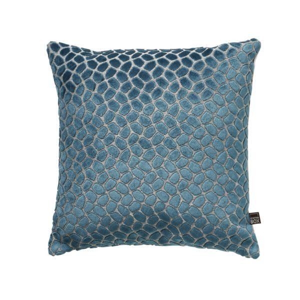 Lapis Teal Cushion