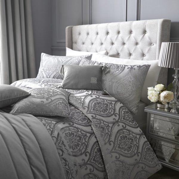 Marquessa Silver Bedding