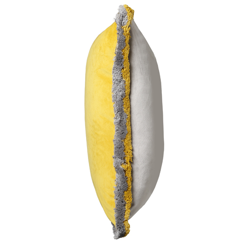 Milana Yellow Grey Cushion