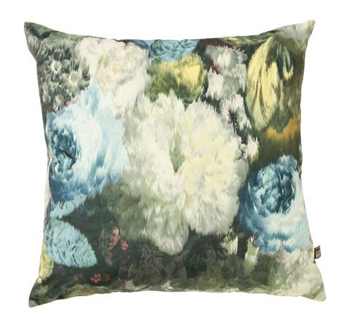Shiyra Teal Cushion